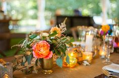 Sweetgrass Social wedding at Legare Waring House. Emily & Anthony. Bright table scape.