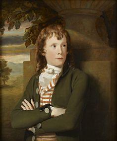 Portrait of William Robertson, c.1787 by Sir Henry Raeburn (Scottish 1756-1823)