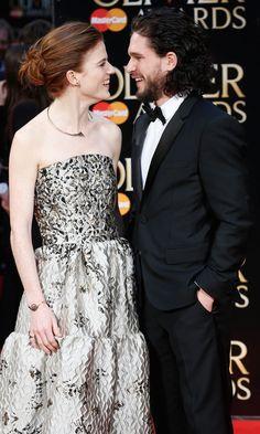 Kit Harington and Rose Leslie Make Their Relationship Red Carpet Official