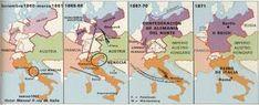 Resultado de imagen para La unificación de Italia y Alemania
