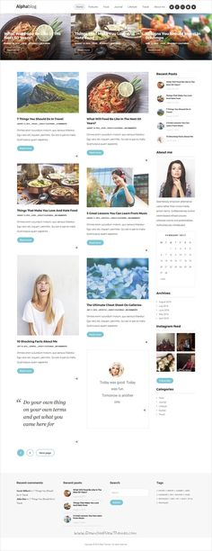 Alpha is beautifully crafted responsive #WordPress theme for creative #blogger and #writers websites with great attention to details and multiple homepage layouts download now➩ https://themeforest.net/item/alphablog-clean-wordpress-blog-theme/17571792?ref=Datasata