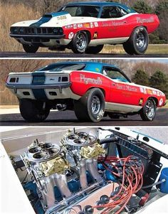 Sox and Martin Best Muscle Cars, American Muscle Cars, Plymouth Muscle Cars, Nhra Drag Racing, Drag Bike, Old Race Cars, Drag Cars, Car Humor, Vintage Racing