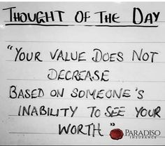 #ParadisoInsurance #ThoughtOfTheDay Commercial Insurance, Insurance Agency, Thought Of The Day, Quotes To Live By, Thoughts, Quote Life, Ideas