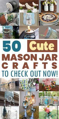 Mason Jar Crafts, Mason Jar Diy, Mason Jar Candy, Mason Jar Desserts, Mason Jar Projects, Small Mason Jars, Mason Jar Meals, Meals In A Jar, Bottle Crafts