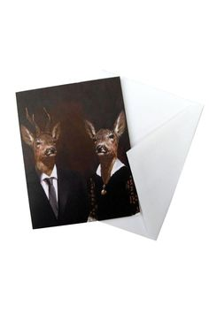 """Printed note card with a blank inside. Comes with a plain envelope and wrapped in a plastic sleeve.    Measures: 5.47"""" x 4.25"""" folded   Portrait Note Card Home & Gifts - Gifts - Stationery & Office Texas"""