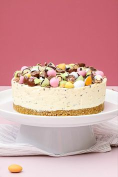 Eat Dessert First, No Bake Desserts, Cheesecakes, Soul Food, Happy Easter, Vanilla Cake, Cake Recipes, Sweet Tooth, Smuk