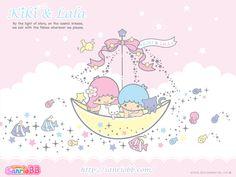 Little Twin Stars Wallpaper Kiki and Lala Kawaii Blog