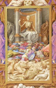 Farnese Hours, M.69, fol. 79v - Images from Medieval and Renaissance Manuscripts - The Morgan Library & Museum