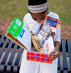 First Ever Monthly Subscription Box Curated to Teach Children About Black History and African Geography