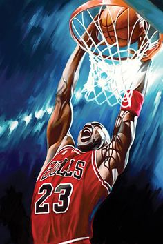 Michael Jordan Artwork Painting