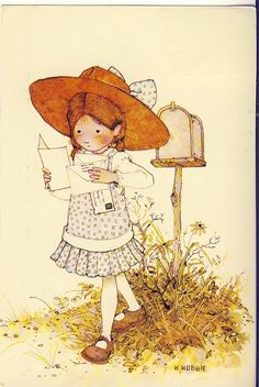 holly hobbie | Holly Hobbie at postbox | Flickr - Photo Sharing!