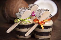 Le Chef Gatô: beijinho cremoso com bolo de chocolate belga