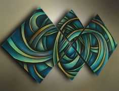 Modern Abstract Huge wall art Oil Painting On Canvas US $54.00