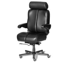 ERA Products Office Chairs Comfort Series Marathon Executive Chair Casters: Carpet, Upholstery: Navy/Chrome