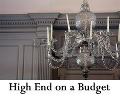 How to Get a High End Look in Your Home on a Budget like a professional interior designer or decorator