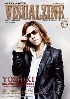 Yoshiki Hayashi of X Japan Visualzine vol 14 summer 7- 25- 2014 issue visual kei magazine cover taken during the Yoshiki Classical World Tour Part 1.  Ajems <3's!  #yoshiki #yoshikiclassical #visualkei #xjapan