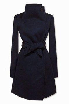 Stylish women Blue Coat