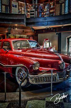 It's a Tucker - Beautiful...~ Red (Preston Thomas Tucker (September 21, 1903 – December 26, 1956) was an American automobile designer and entrepreneur.)