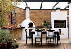 Click Interiores | Um Lugar Especial para o Churrasco e a Pizza !