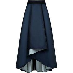 Sachin & Babi - Philip maxi full skirt ($487) ❤ liked on Polyvore featuring skirts, long maxi skirts, layered skirt, hi low skirt, hi lo maxi skirt and high low maxi skirt