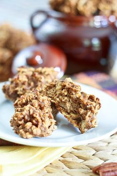 Completely Sugar Free / High Protein Pumpkin Oatmeal Cookies   by Sonia! The Healthy Foodie