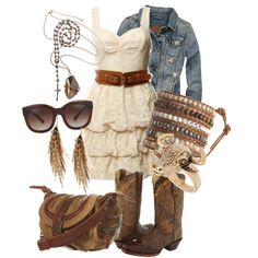 Cowgirl Chic - love!