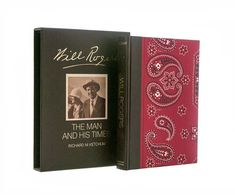 Will Rogers: The Man and His Times with Slipcase by PlumsandHoney ~ETS #willrogersbio #vintagebooks #vogueteam