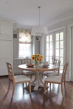 Everything Feels Happier With Sunflowers!   Breakfast Room By Erika Ward  Interiors Home And Family