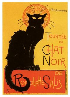 le chat noir by ironmarc,