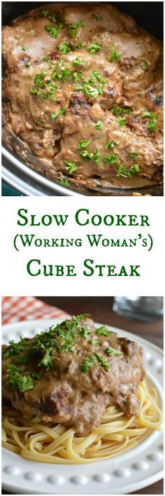 This is one of those recipes that has been handed down from one farm wife to the next for generations. What's better than Cube Steaks that cook in the slow cooker?
