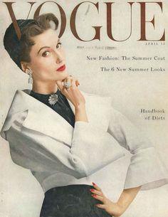 https://flic.kr/p/9iCEKh   Cover by Erwin Blumenfeld, April 1953