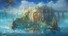 Concept Art for the Magical Kingdom,