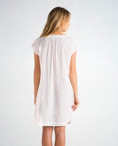 ss17seinepinkback Sustainable Fashion, White Dress, Spring Summer, Tunic, Pretty, How To Make, Shopping, Collection, Dresses