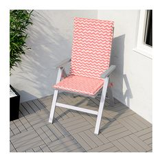 FALSTER Reclining Chair, Outdoor   Foldable Grey,     IKEA