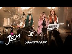 Audrey and I can't stop singing this song! Love the new Jem and the holograms movie!