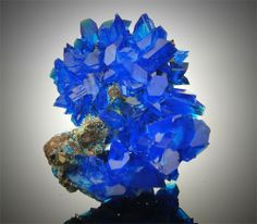 WOW Top Quality Electric Blue Chalcanthite on Matrix from Poland   eBay