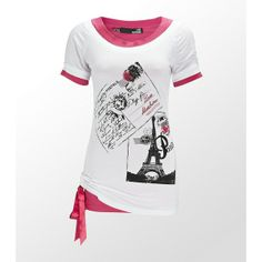 Love Moschino Paris Postcard T-Shirt