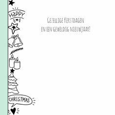 Kerstkaart Doodle - WW 3