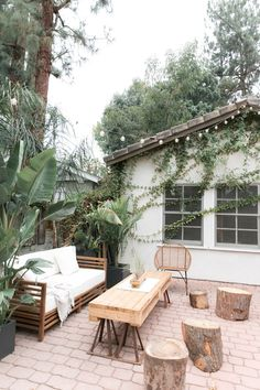 Your this charming bungalow In Los Angeles on the west elm blog.