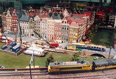 Amsterdamse Modelbouwers Club - hompage Escala Ho, Ho Trains, N Scale, Amsterdam, Basketball Court, Miniature, Club, Dioramas, Scale Model