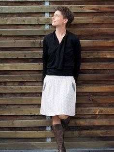 Lotta Skirt aus Bio-Popeline