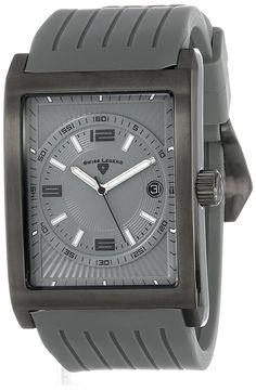 Swiss Legend Men's 40012-GM-014 Limousine Analog Display Swiss Quartz Grey Watch -- Visit the image link more details.