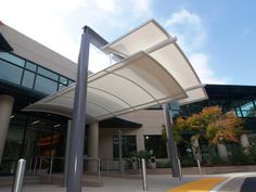 Stanford Vision Center Entrance Canopy - Tension Structures