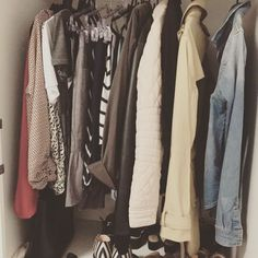 Capsule Wardrobe by minimal_ana (@minimal.ana) on Instagram, August 2017 #capsulewardrobe