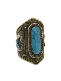 Natalie B. Jewelry Ava Cuff in Turquoise