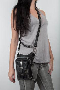 Penny Rocker Hip and Holster Bag by JungleTribe on Etsy, $298.00