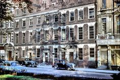 """Temple Row - Early 18th Century (1710) houses were demolished in Sept 1957 for the building of…"""""""