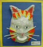 masks: middle school art projects