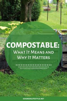 If you're curious what compostable means, we break down what compostable means, how it's different than biodegradable, and how it impacts the present and future health of our environment. Waste Reduction, Green Living Tips, Natural Lifestyle, Eco Friendly House, Green Cleaning, Go Green, Sustainable Living, Sprays, Natural Living