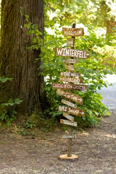 signpost to places that only exist in our imaginations